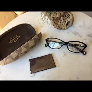 COACH Maria HC6046 5002 Black Women Eyeglasses